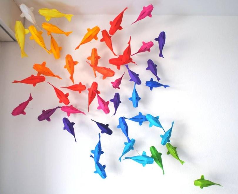 Hiasan Origami Ikan