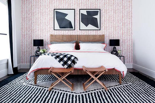 Wallpaper Bilik Tidur