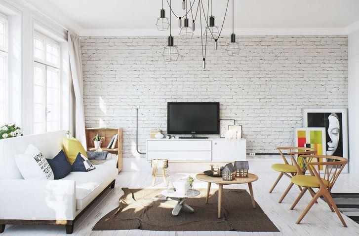 9 Idea Deco Susun Atur Ruang Tamu Rumah Teres