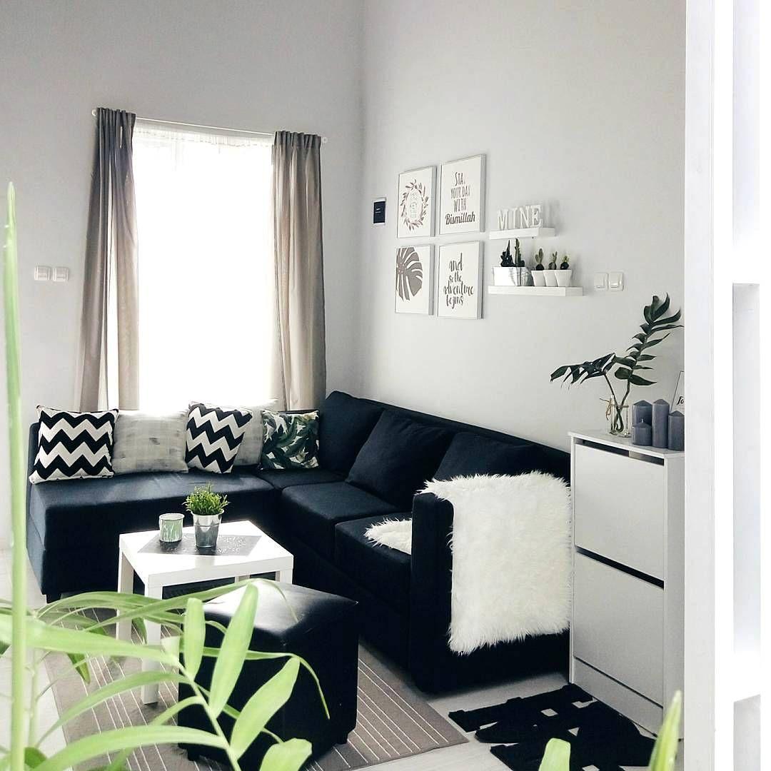 Dekorasi Ruang Tamu Rumah Teres Bajet Rendah