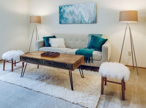 Dekorasi Ruang Tamu Rumah Teres Kos Rendah