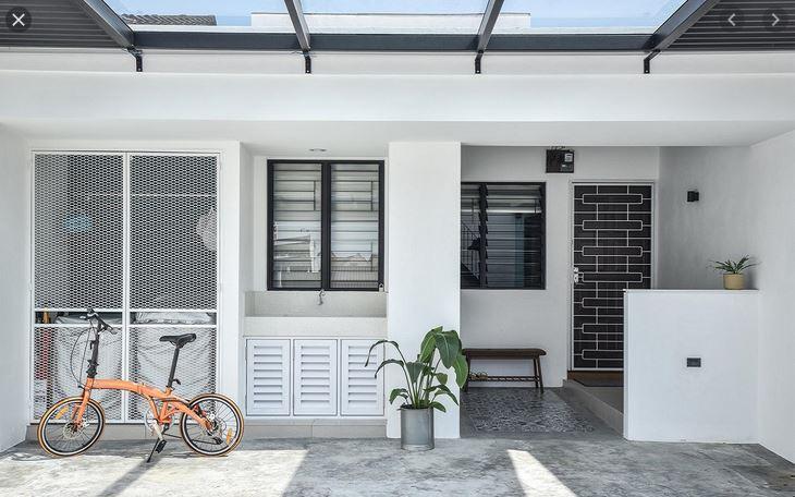Porch Rumah Teres Alam