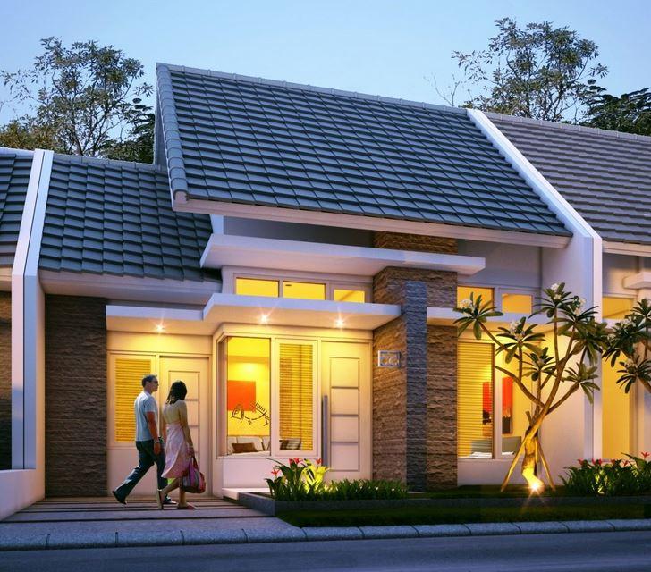 Reka Bentuk Rumah Teres 1 Tingkat Sederhana