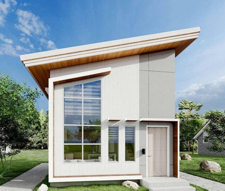 Reka Bentuk Rumah Teres 2 Tingkat Moden