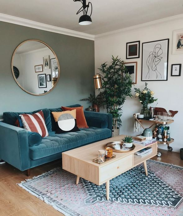 Susun Atur Ruang Tamu Rumah Teres Moden